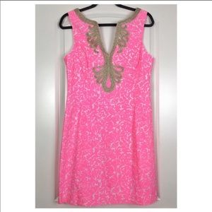 💕SALE Lilly Pulitzer cosmo pink Janice dress